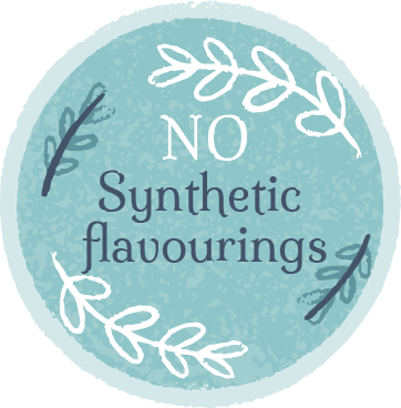 No synthetic flavourings